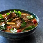 Recipe: Red beef and vegetable curry with fresh herbs