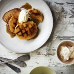 Recipe: Grilled Mango with Caramelised Brioche