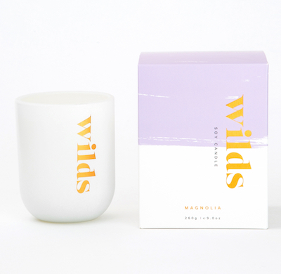 Wilds Soy Candle in Magnolia