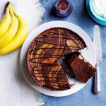 Recipe: Upside Down Banana Chocolate Cake