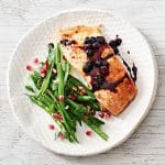 Recipe: Grilled Salmon With Blueberry Balsamic Sauce