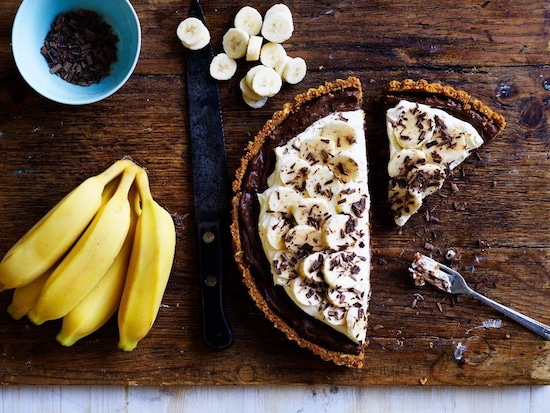 Recipe: Banana Custard Pie