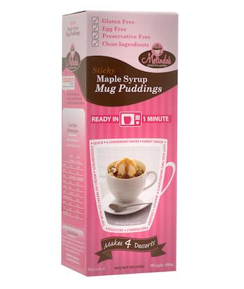 Maple Syrup Mug Puddings copy